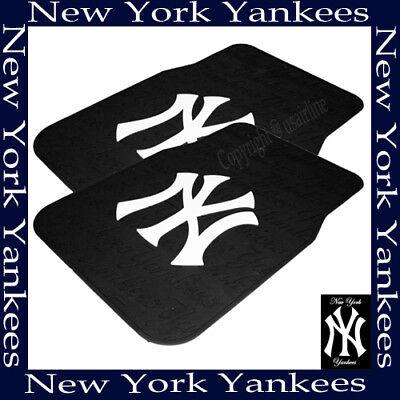 MLB NWT CAR TRUCK FLOOR MATS  NEW YORK YANKEES BEST QUALITY