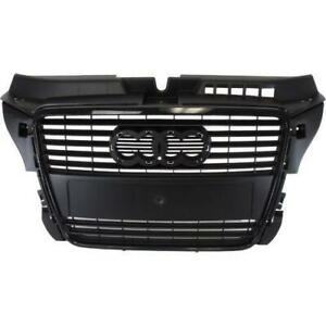 2009-2013 Audi A3 Grille Painted Black