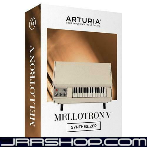 Arturia Mellotron V Plugin eDelivery JRR Shop