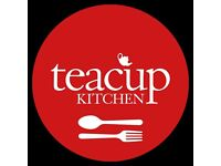 Exciting Opening For General Manager Of Teacup Kitchen Cafe, Northern Quarter, Manchester