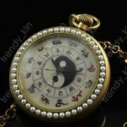 Pocket Watch Painted Dial