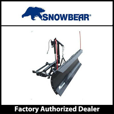 "SnowBear 324-116 Winter Wolf Snowplow-2 Point Mount Electric Actuator - 88""x26"""