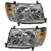 Toyota Land Cruiser Headlights