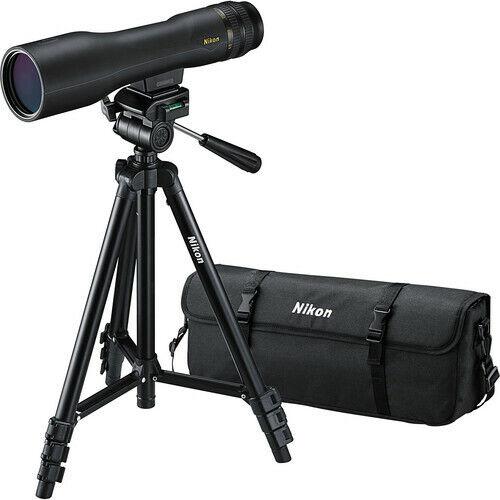 Nikon ProStaff 3 16-48x60 Spotting Scope Kit (Straight Viewing)