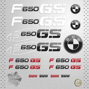 sticker bmw moto f 650 gs pegatina vinyl decal autocollant aufkleber adesivi. Black Bedroom Furniture Sets. Home Design Ideas