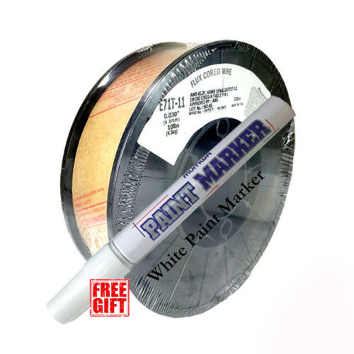 10lb .030 E71T- 11 Flux Cored Gasless Steel Weld Wire - USA MADE