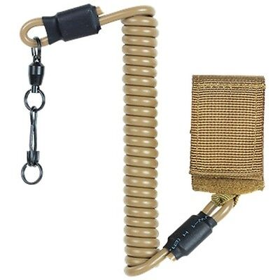 Voodoo Tactical Hunting Pistol Law Enforcement Retention Lanyard Sling Leash Tan