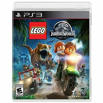 Lego Jurassic World For PlayStation 3 PS3 Game Only 2E