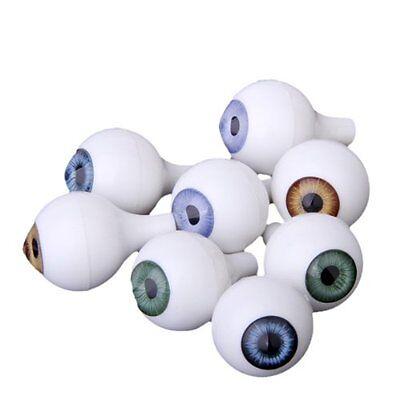 8 PCs Round Acrylic Doll Eyes Eyeballs Halloween Props 20mm](Doll Eyes Halloween)