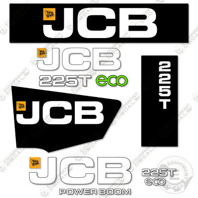 Jcb 225t Decal Kit Skid Steer Replacement Stickers Heavy Equipment Decals
