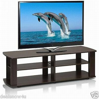 Furinno TV Stand - Up to 42 Screen Support - 60 lb Load Capa