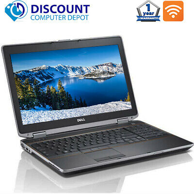 Dell Laptop Latitude Computer Core i3 8GB 500GB HD DVD Wifi Windows 10 PC
