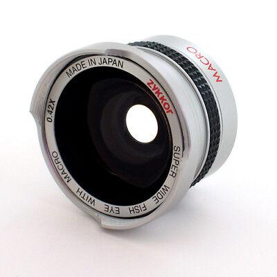 Fish-Eye FishEye Lens 37mm 0.42x for Sony Camcorder
