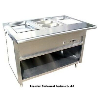 Propane Steam Table - Stainless Steel Steam Table 48