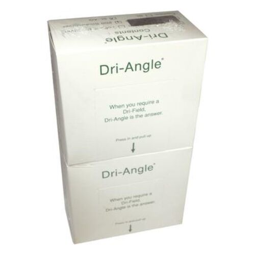 DRI-ANGLE WITH SILVER - SMALL COTTON ROLL SUBSTITUTE - BOX OF 400 DHP
