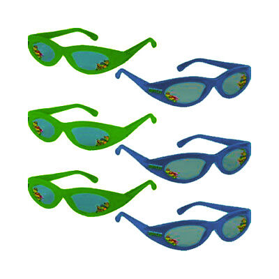 Ninja Turtles Birthday Party Supplies (TEENAGE MUTANT NINJA TURTLES SUNGLASSES (6 pairs) ~ Birthday Party)