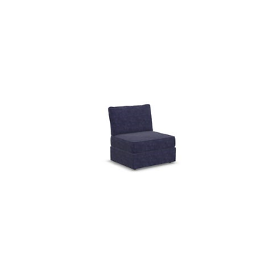 sactional storage seat cover sapphire navy corded