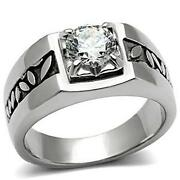 Mens Engraved Ring