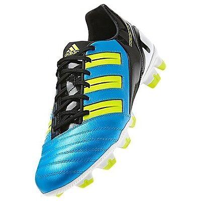 Men's Adidas Predator Absolion TRX FG Soccer Cleats - Blue/Black/Volt - NIB! Absolion Trx Fg Soccer Shoes