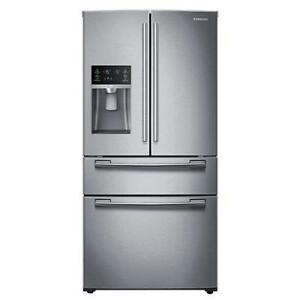 HOT DEAL ON OPEN BOX FRIDGE SAMSUNG MOD RF25HMEDBSR/AA WITH WARRANTY!