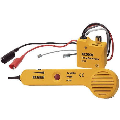 Extech 40180 Tone Generator & Amplifier Probe Kit Heavy Duty Kit