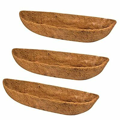 Ayybf 3-Packs Coco LinerWall Basket Planter Liner Coco Liner Roll Hanging Bas...