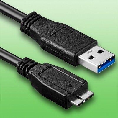 USB Kabel für Fuji Fujifilm X-H1 Digitalkamera | Datenkabel | Länge 1,8m