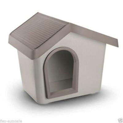 Kennel Stall Dog House Basket Bed Plastic Grey / Zeus Size 50