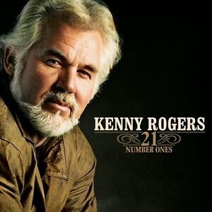 KENNY ROGERS 21 NUMBER ONES CD (Greatest Hits / Very Best Of)