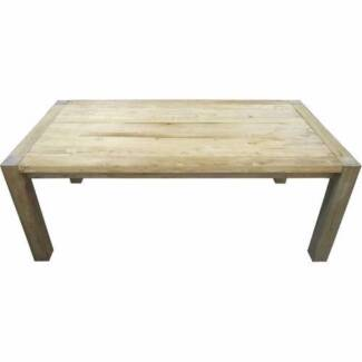 New French Provincial Rustic Recycled Timber Dining Tables Table Richmond Yarra Area Preview