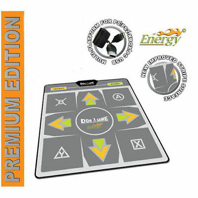 DDR Energy Premium Edition Dance Pad for PS2 Xbox PC Wii  NEW (Premium Edition Dance Pad)
