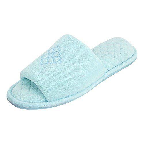 New With Tags Women's DearFoam Dearfoams Slippers Sandals Shoes Medium Large