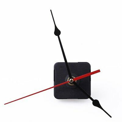 6168S Clock Movement Black Hour Minute Red Second Hand DIY Tools Set LW D3E4