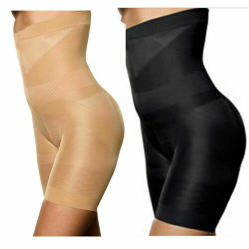 Damen Neu Seamless Body Pants Hohe Taille Miederhose Bauchweg Shapewear Hosen