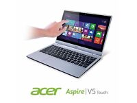 Acer Aspire Touchscreen notebook/ultrabook fully upgraded. SSD, Backlit keyboard