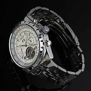 Luxury Man's Elegant Men 3 Colors Dial Man Automatic Mechanical Men's Gift Watch