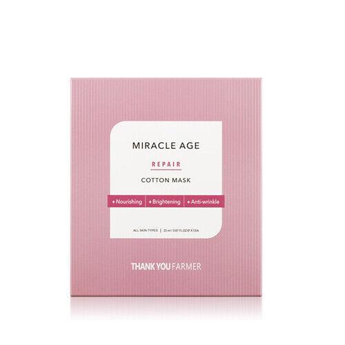[THANK YOU FARMER] Miracle Age Repair Cotton Mask 5ea