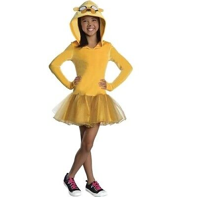 Rubies Adventure Time Jake Girls Halloween Hooded Tutu Dress Costume Medium 8-10](Halloween Adventure Time Costumes)