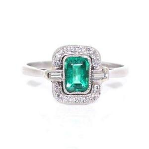 emerald and ring ebay