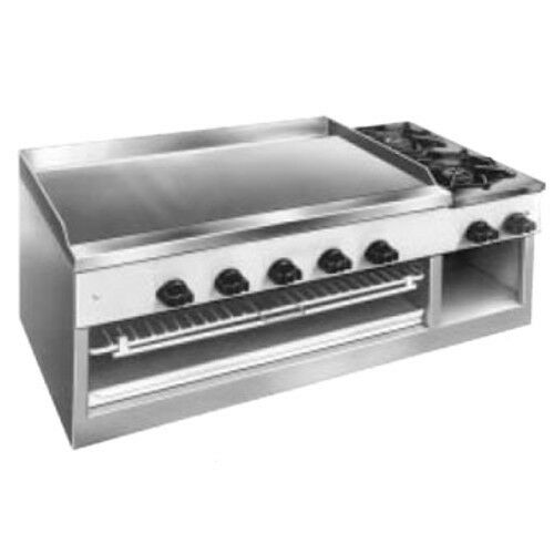 "Comstock Castle 11201b 30"" Countertop Gas Griddle/cheesemelter/hotplate"