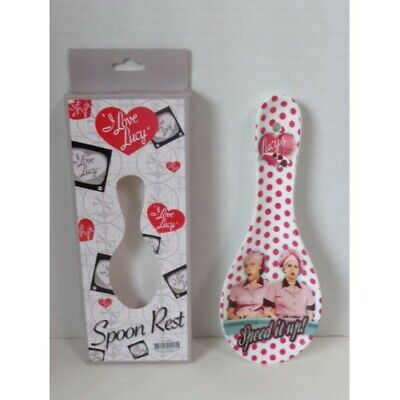 I LOVE LUCY SPOON REST NEW IN BOX
