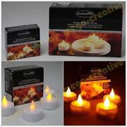 LED Teelichter mit Ladestation
