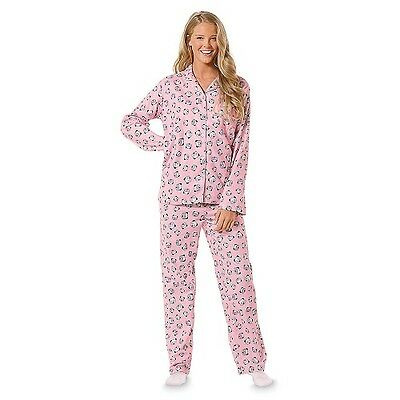 Joe Boxer Women's Printed Flannel Pajama Set ()