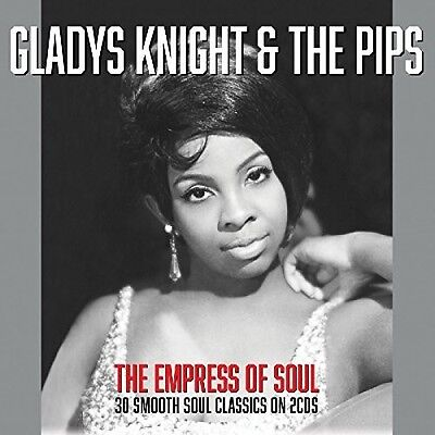 Gladys Knight   The Pips   Empress Of Soul  New Cd  Uk   Import