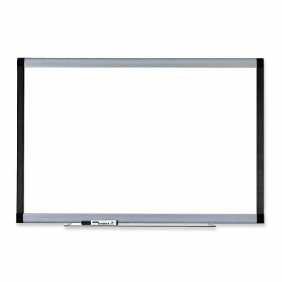 Lorell Signature Magnetic Dry Erase Board - 72 Width X 48 Height - Coated