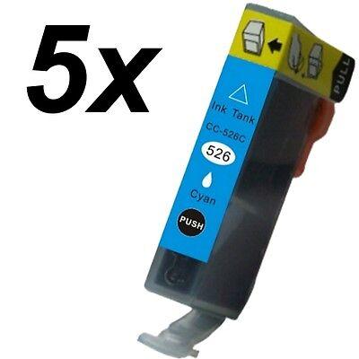 5x Druckerpatronen für Canon Pixma CLI-526C MG6120 Wireless MG6150 IP4820 IP4840 online kaufen