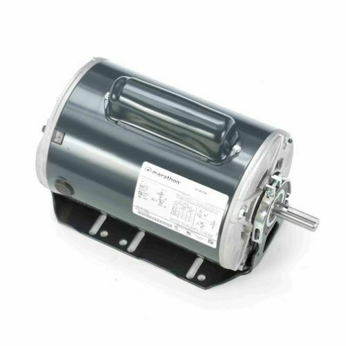 NEW GE 1/2 CAPACITOR START MOTOR 115/230 VAC 1 PHASE 56 1725 RPM 5KC49GN0001AX