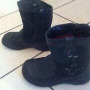 Girls Black Shoes Size 6