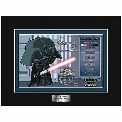 EE Exclusive Star Wars Family Guy Darth Stewie Character Key
