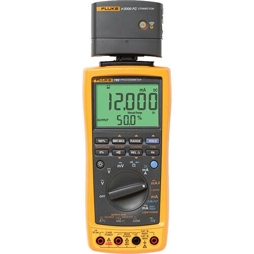 Fluke 789/IR3000 BU ProcessMeter, HART, Wireless FC Module Combo Kit